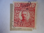 Stamps Sweden -  King Gustavo II