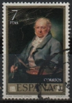 Stamps Spain -  Goya
