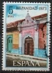 Stamps : Europe : Spain :  Hispanidad Nicaragua (Casa Colonial)