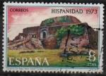 Stamps : Europe : Spain :  Hispanidad Nicaragua (Castillo dl Rio San Juan)