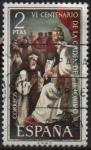 Stamps : Europe : Spain :  VI centenario d´l´orden d´ San Geronimo