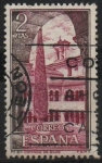 Stamps Spain -  Monasterio d´Santo Domingo dl Silos (Vista interior)