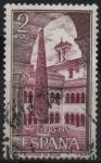 Sellos de Europa - España -  Monasterio d´Santo Domingo dl Silos (Vista interior)