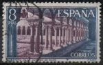 Sellos del Mundo : Europa : España : Monasterio d´Santo Domingo dl Silos (Claustro)