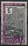 Stamps : Europe : Spain :  V Centenario d´l´Imprenta (Los Sinodiales d´Aguilafuente)