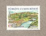 Stamps Asia - Turkey -  Paisajes de Turquía