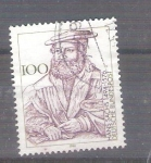 Stamps Germany -  Hans Sachs Y1595