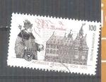Stamps : Europe : Germany :  RESERVADO JAVIVI 500 Aniversario de la Dieta de Worms Y1605