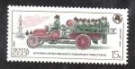 Sellos del Mundo : Europa : Rusia :  Historia de los motores de bomberos