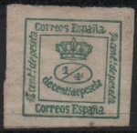 Stamps Spain -  Corona Real