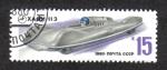 Stamps Russia -  Coches de carreras soviéticos