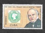 Stamps Cuba -  3220 - 150 Anviersario del Primer Sello Postal