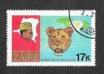 Sellos de Africa - República del Congo -  907 - Expedición del Río Zaire