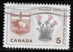 Stamps Canada -  Prairie Crocus, Manitoba