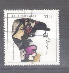 Stamps : Europe : Germany :  RESERVADO MIGUEL Betolt Brech Y1804