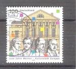 Sellos de Europa - Alemania -  Ciudad de Weimar Y1860