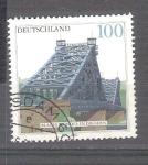 Stamps : Europe : Germany :  RESERVADO MANUEL BRIONES Puente Azul de Dresden Y1942