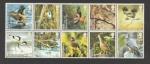 Stamps United Kingdom -  Aguilucho lagunero