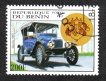Stamps Benin -  Coches Antiguos