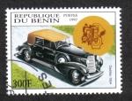 Sellos de Africa - Benin -  Coches Antiguos