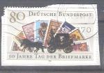 Sellos de Europa - Alemania -  RESERVADO MIGUEL 50 aniversario del día del sello Y 1128