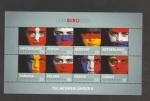 Stamps Austria -  Participantes UEFA 2008: Rumanía