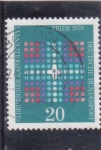 Stamps Germany -  congreso católico Trier 1970