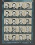 Sellos de America - El Salvador -  Ex-Presidentes:Francisco Dueñas