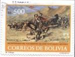 sellos de America - Bolivia -  Bicentenario del nacimiento de Jose Eustaquio Mendez