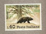 Stamps Italy -  Parques Nacionales