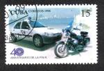 Stamps Cuba -  40 Aniversario de la P.N.R.
