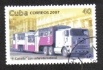 Stamps : America : Cuba :  Transporte Público