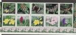 Stamps El Salvador -  Mariposa manchada