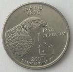 monedas del Mundo : America : Estados_Unidos :  2007 quarter dollar