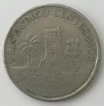 monedas del Mundo : America : Panamá :  2003 veinticinco centesimos
