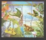 Sellos de Europa - Rumania -  Lacerta viridis