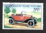 Stamps : Africa : Chad :  Automóviles Clasicos