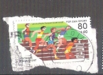 Sellos de Europa - Alemania -  RESERVADO MIGUEL Pro Deportes Atletismo Y 1001