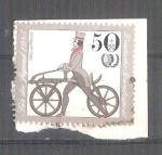Sellos de Europa - Alemania -  RESERVADO CHALS Pro Juventud Bicicletas Y1074