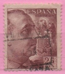 Stamps of the world : Spain :  General Franco