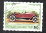 Stamps : Africa : Togo :  Automoviles Antiguos
