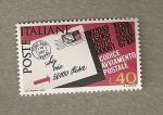 Stamps Europe - Italy -  Introducción Códigos Postales