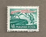 Stamps Hungary -  Seamos amistosos en el tráfico