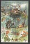 Stamps Czech Republic -  Mariposa Eudia pavonia