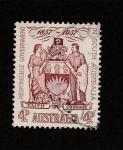 Stamps Australia -  Primer Centenario de autogobierno de Australia del sur