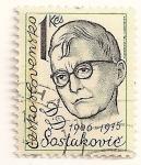Stamps Czechoslovakia -  Hombres famosos. Dimitri Shostakovich 1906-1975.