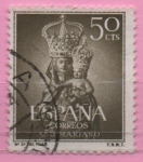Stamps Spain -  Año Mariano (Ntra Sra dl Pilar)
