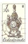 Sellos de Europa - Checoslovaquia -  Relojes Siglo XVIII.