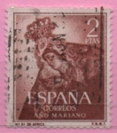 Stamps Spain -  Año Mariano (Ntra Sra d´Africa)