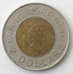 monedas del Mundo : America : Canadá :  2000 - 2 dollar